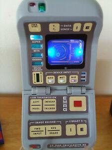 Star Trek Next Generation tricorder with lights and sound