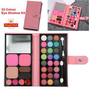 33 Colour Girls Princess Pretty Makeup Set Eye Shadow Make Up Kids Children Kits