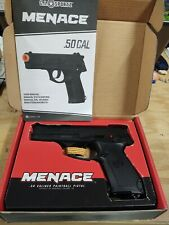 Menace 0.50cal Paintball Pistol - New In Box - Never Fired With All Paperwork