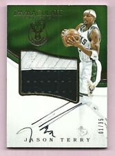 Jason Terry Bucks 2016-17 Immaculate Collection Premium Patch Auto Card 01/35