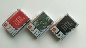 JBL Go 3 Portable Waterproof Bluetooth Speaker - New - Choose Color