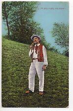 POLOGNE POLSKA POLAND Polskie Costumes types paysan de silésie région de Teschen