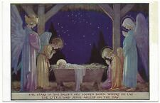 The Stars in the Bright Sky by Margaret Tarrant Jesus angels manger