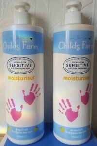 2x Childs Farm Moisturiser Grapefruit & Organic Tea Tree 1000ml Eczema FAST POST