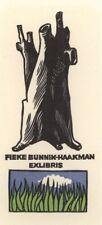 Ex Libris Cees Andriessen : Fieke Bunnik-Haakman