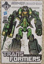 Transformers Generations Mini-Con Assault Team Comic