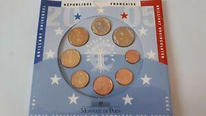 Série BU euros 2005 France Sous Blister