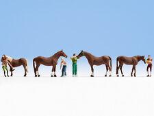NOCH 15632 - H0 Figurines 1:87 - Soins du cheval - neuf emballage d'origine