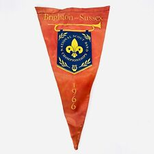 More details for brighton sussex scouting flag national scout band championships 1966 rare
