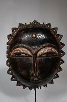 AS8 Baule Maske alt Afrika / Masque baoule ancien / Tribal baule mask
