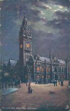 Sheffield; The municipal building; Tucks oilette 1686