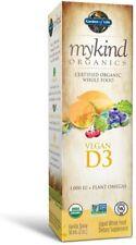 MyKind Organics  Vegan D3 Organic Spray  Vanilla  1 000 IU  2 oz