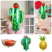 Pineapple Fruit Foil Balloon Show Summer Theme Birthday Party Decoration Supplie