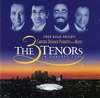 THE 3 TENORS IN CONCERT 1994 - CARRERAS, DOMINGO, PAVAROTTI WITH MEHTA / CD