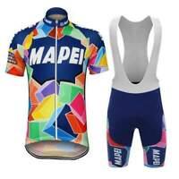 Retro 1993 Team Mapei Cycling Kit