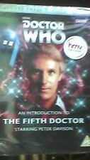 Doctor Who - An introduction to the fifth Doctor - Peter Davison - NEW/SEALED