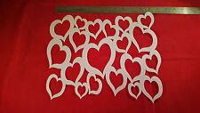 AIRBRUSH SHIRT SIZED STENCIL HEARTS BACKGROUND BG 109 ART DESIGNS STENCILS CRAFT