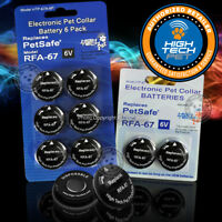 RFA-67D-11 HighTech Pet Replacement 6V Battery PetSafe PIF-275-19 PUL-275 Collar
