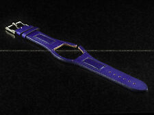 New Authentic Technomarine ButterFly  Collection Leather Band Strap - Purple
