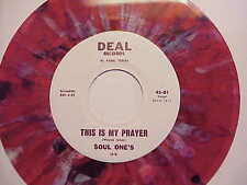 "MONSTER SWEET SOUL / FUNK  KILLER 45 ""THE SOUL ONE'S"" RARE SPLASH WAX"