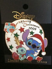 Japan Disney M&P - Christmas 2008 Stitch Pin LE 400