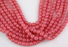 4mm Czech Round Opaque Dusty Rose Pink Preciosa Pressed Beads Spacer 100pcs