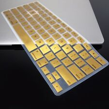 METALLIC GOLD Keyboard Cover Skin for Macbook Air 13