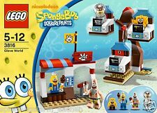 LEGO 3816 SPONGEBOB SquarePants Handschuhwelt Glove World Rare Rarität