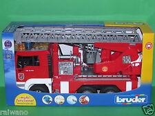 Bruder 02771 MAN TGA Feuerwehr mit Drehleiter mit Light und Sound Modul