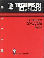 1996 TECUMSEH TC SERIES TWO CYCLE ENGINES form 694782 MECHANIC'S MANUAL (543)
