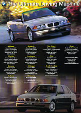 2000 BMW 328i Convertible 528i - Classic Vintage Advertisement Ad D09