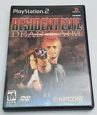 Resident Evil Dead Aim Ps2/ Black Label No Manual Plus Official Stategy Guide