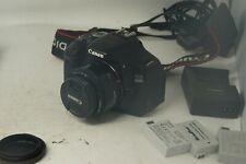 Canon EOS 600D Digital SLR Camera - with Canon 50mm 1.8 Prime AF lens