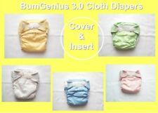 Bum Genius 3.0 S M L 3-in-1 One Size Reusable Cloth Diaper Cover & Insert Nappy