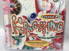 Crystal Pop Kring-a-Ling Pop Dance Christmas Album CD (1999)