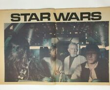 Star Wars Paper Lot Newspaper of Science Fiction and Fantasy Vol 1 No 1 (1977)