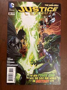 Justice League #31 - 1st App Jessica Cruz (2014) - New 52 - NM Key Issue