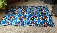 Marvel Avengers Curtains 2 Panels 40 X 63 VGC