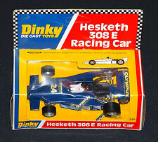 Dinky Hesketh 308 E Racing Car Mint in Window Box Clean Vintage 1978 Meccano