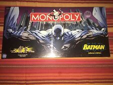 Rare Batman Collectors Edition Monopoly ( OUT OF PRINT Never Opened MIB )