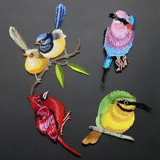 Broderie Bird Iron Sew On Patch Badge Décor de tissu en tissu brodé