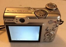 VINTAGE CANON POWERSHOT A570 IS DIGITAL CAMERA WITH CASE