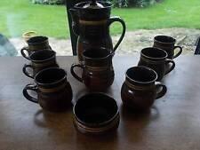 Earthenware Tableware 1960-1979 Date Range Studio Pottery