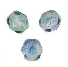 25 Perles Facettes cristal de boheme 6mm URANUS