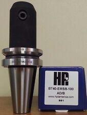 "HPI Pioneer BT40 5/8 End Mill Holder 3.94"" Coolant Thru DIN AD/B **NEW**"