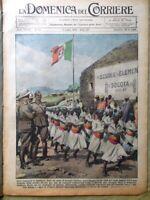 La Domenica del Corriere 5 Luglio 1936 Basilisco Moloch Ogaden Saturno Etiopia