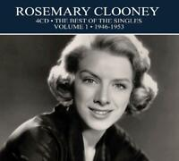 ROSEMARY CLOONEY - BEST OF THE SINGLES VOL.1 -1946 - 1953,  4 CD NEW!