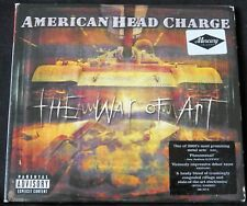 AMERICAN HEAD CHARGE - THE WAR OF ART limited edition digipack cd album