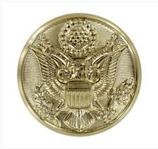 Genuine U.S. Army Button: Eagle 30 Ligne - Pair