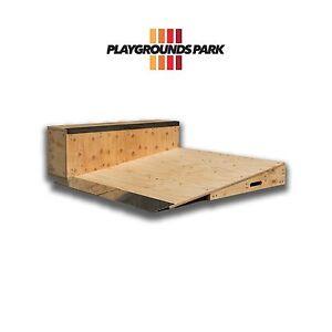 Skate Ramps combination ( Ramp / Jump / Kicker / Launch / Wedge / Manual pad )